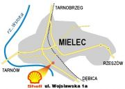 Mielec Stacja paliw Shell